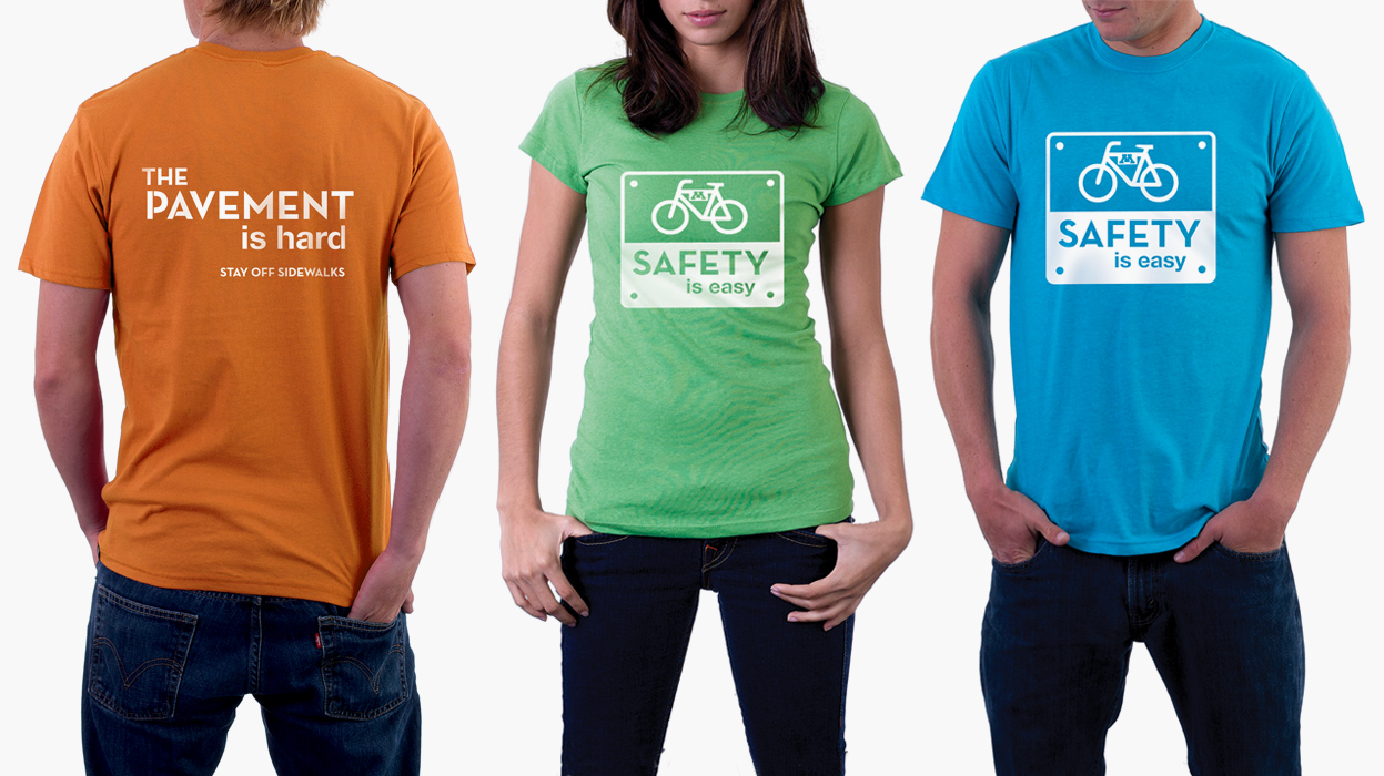 safety campaign, shirts
