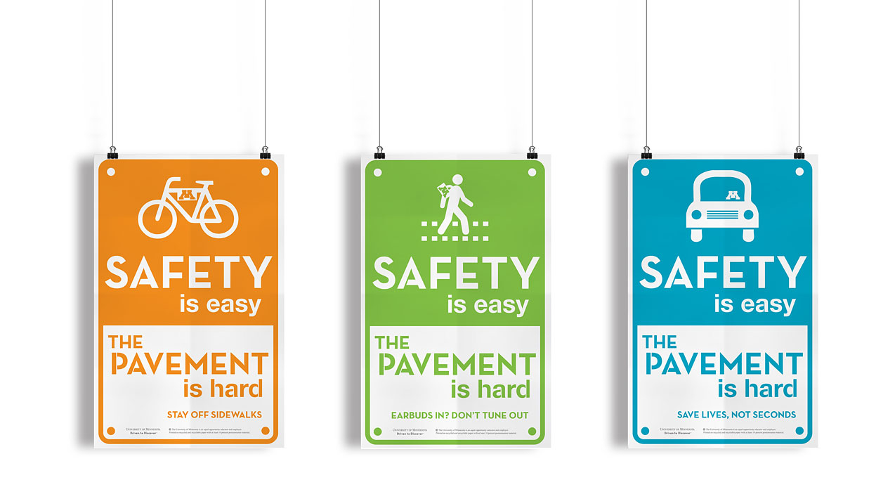 safety campaign, posters