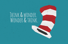 THINK AND WONDER. WONDER AND THINK.