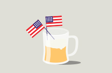 beer holiday, Independence Day
